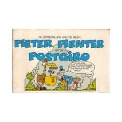 Pieter Pienter 01 Lotgevallen met de Postgiro 1e druk 1976