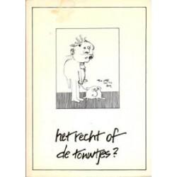 Vlemminx Het recht of de touwtjes 1e druk 1979