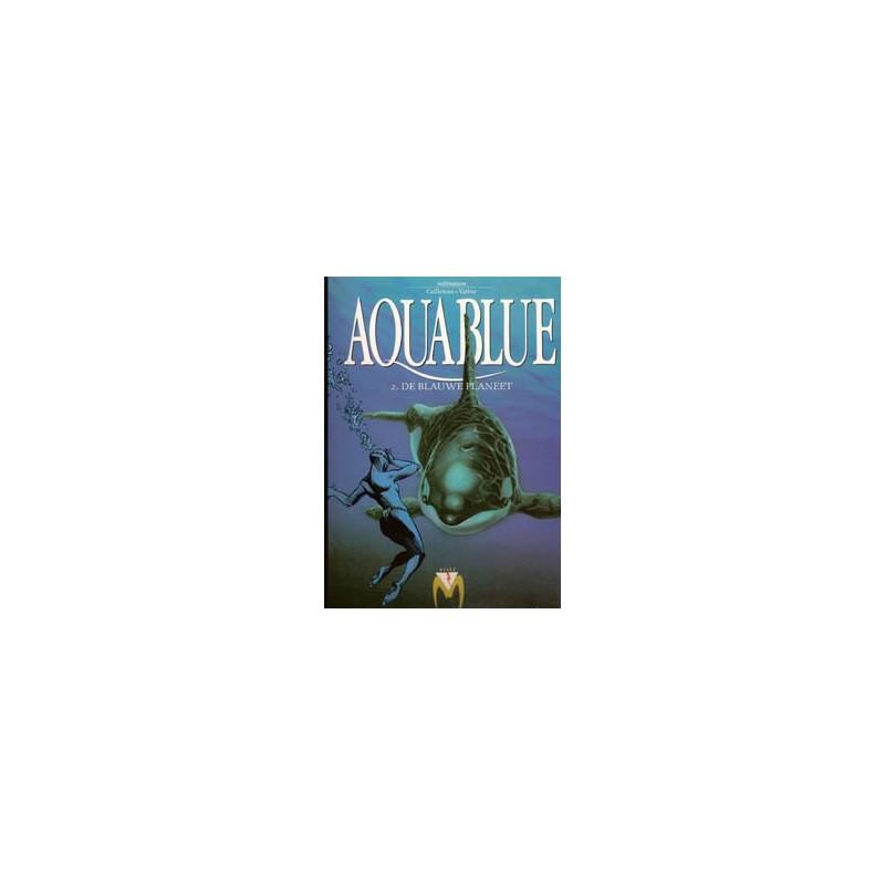 Aquablue HC 02 De blauwe planeet herdruk