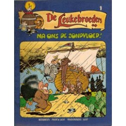 Leukebroeders setje<br>Deel 1 & 2<br>1e drukken 1980-1981