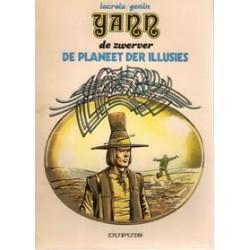 Yann de Zwerver 01<br>De planeet der illusies<br>1e druk 1980
