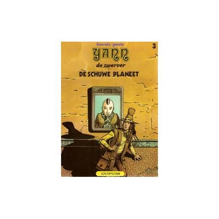 Yann de Zwerver 03 De Schuwe Planeet 1e druk 1980