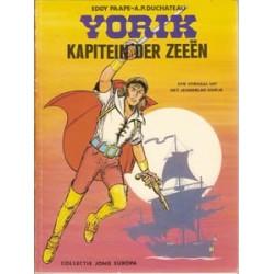Yorik 01<br>Kapitein der zeeen<br>Jong Europa<br>1e druk 1975