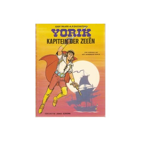 Yorik 01 Kapitein der zeeen Jong Europa 1e druk 1975