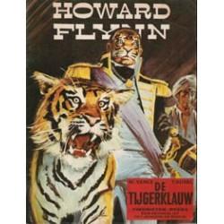 Howard Flynn 01 HC<br>De tijgerklauw<br>herdruk 1981