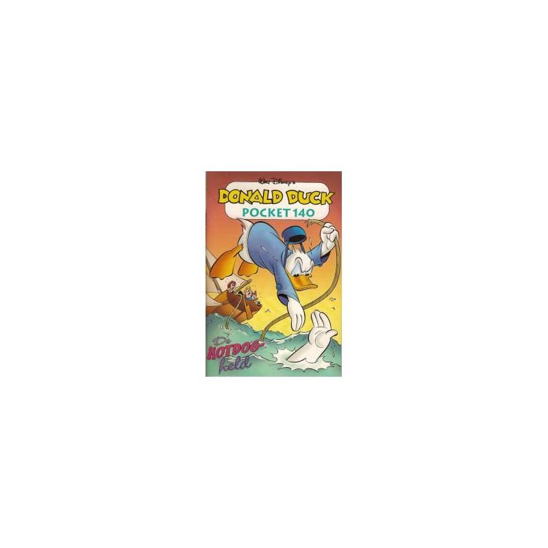 Donald Duck pocket 140 De hotdog-held