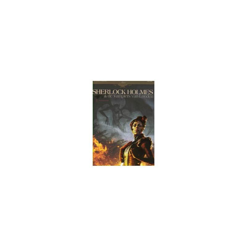 Sherlock Holmes D02 HC De vampiers van Londen 2 Dood en levend (Collectie 1800)