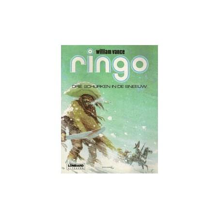Ringo Vance setje Deel 1 t/m 3 herdrukken 1978-1979 Lombard