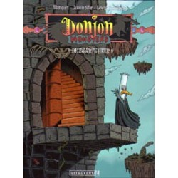 Donjon Monsters 04 HC<br>De zwarte heer
