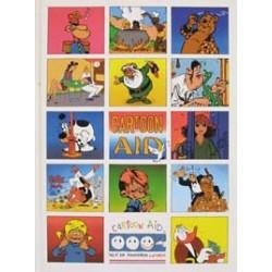 Cartoon Aid HC 1e druk 1989 met diverse onuitgegeven strip