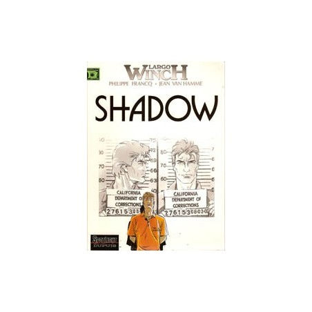 Largo Winch<br>12 - Shadow<br>1e druk 2002