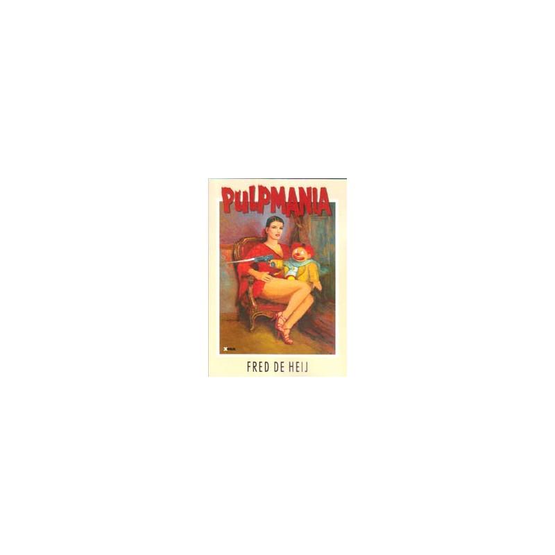 De Heij strips Pulpmania de beste verhalen uit Pulpman 1-10