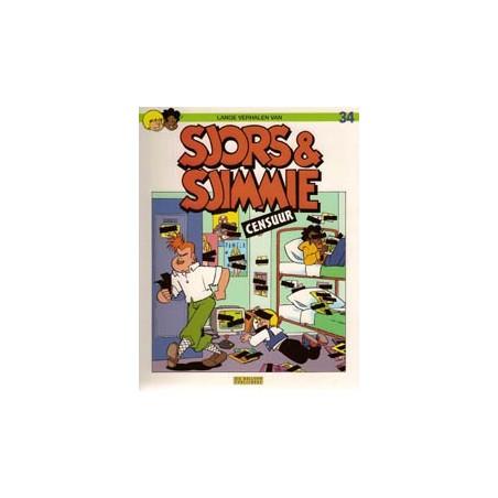 Sjors & Sjimmie 34 Censuur 1e druk 1996