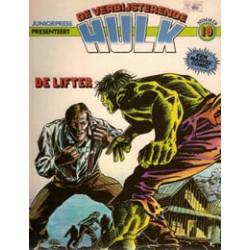 Hulk album 19<br>De lifter<br>1e druk 1981