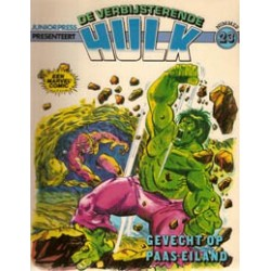 Hulk album 23<br>Gevecht op Paas-Eiland<br>1e druk 1982