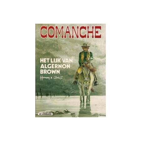 Comanche  10 Het lijk van Algernon Brown