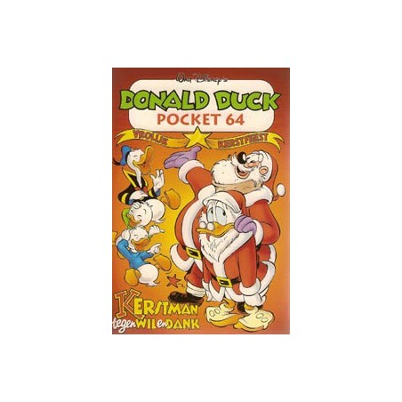 Donald Duck Pocket 064 Kerstman tegen wil en dank 1e druk
