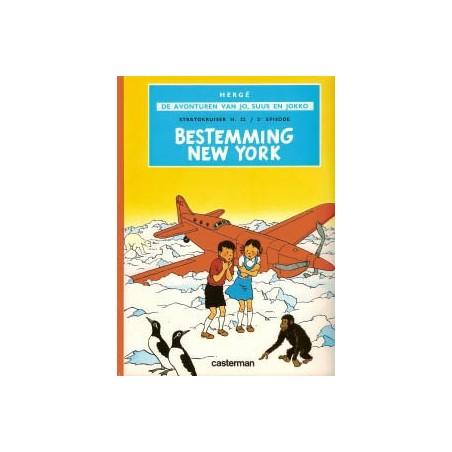 Jo, Suus en Jokko  02 Bestemming New York