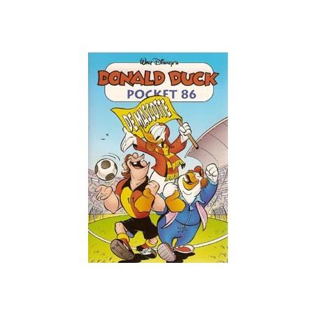 Donald Duck pocket 086 De mascotte herdruk