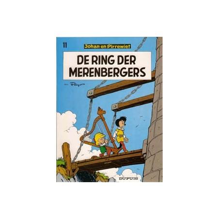 Johan en Pirrewiet 11 - Ring der Merenbergers herdruk 1969