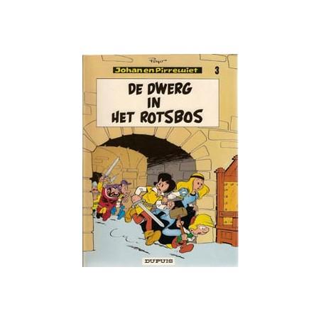 Johan en Pirrewiet 03 - Dwerg in het Rotsbos herdruk 1971
