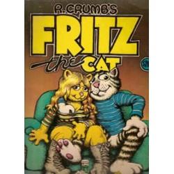 Crumb Fritz the Cat  USA 3 Big Stories 1e druk 1969