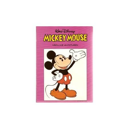 Mickey Mouse Foodboek I 04<br>Vrolijke avonturen<br>1e druk 1990