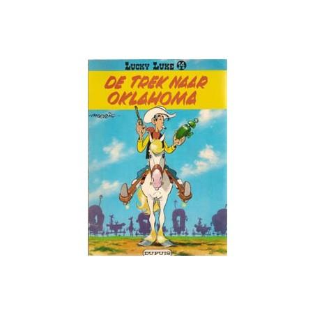 Lucky Luke 14 De trek naar Oklahoma herdruk