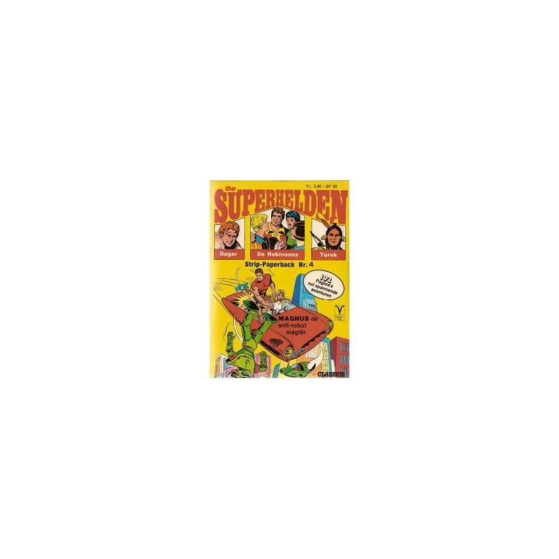 Superhelden pocket 04 Alleen tegen Talpa 1e druk 1974