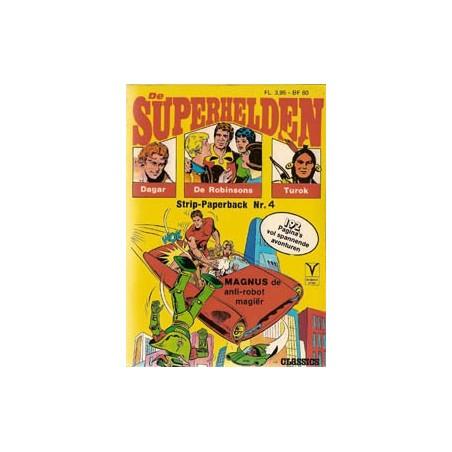 Superhelden pocket 04<br>Alleen tegen Talpa<br>1e druk 1974