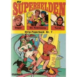 Superhelden pocket 07 Bunda de almachtige 1e druk 1971