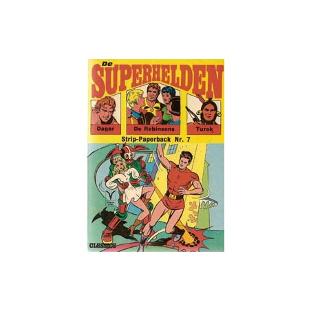 Superhelden pocket 07 Bunda de almachtige 1e druk 1971