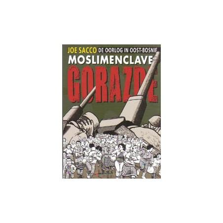 Sacco strips Moslimenclave Gorazde De oorlog in Oost-Bosnie