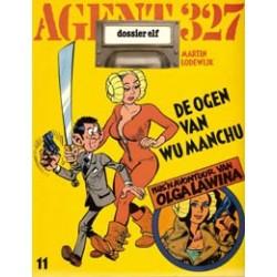 Agent 327<br>11 Dossier De ogen van Wu Manchu<br>herdruk