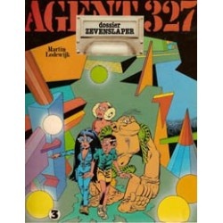 Agent 327<br>03 Dossier Zevenslaper<br>1e druk 1978