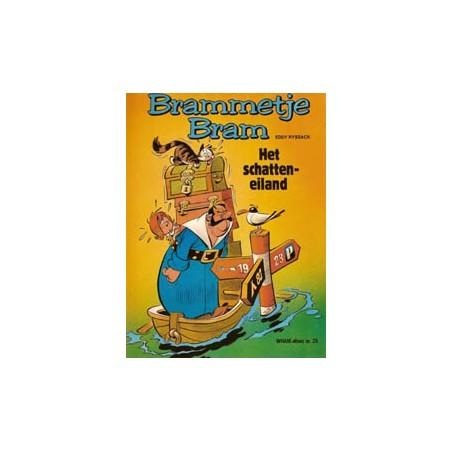 Brammetje Bram 03 Het schatteneiland 1e druk 1980