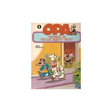Opa 01 Herrie in huize Roest Rust 1e druk 1980