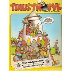 Tinus Trotyl 1e druk 1984 met single