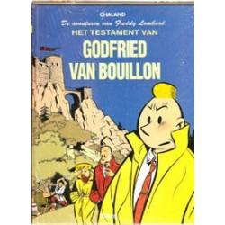 Freddy Lombard 01 HC<br>Testamen Godfried Bouillon<br>met spel