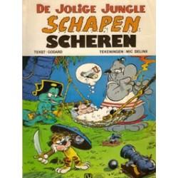 Jolige Jungle 07 Schapen Scheren 1e druk 1976