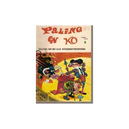 Paling en Ko 04<br>Als stierenvechters<br>1e druk 1972