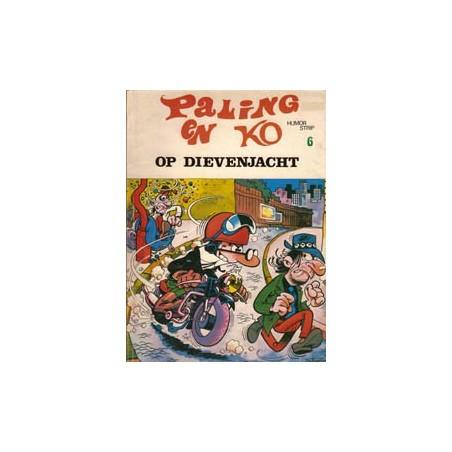 Paling en Ko 06 Op dievenjacht herdruk oorspr. omslag