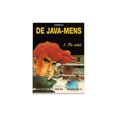 Java-mens setje HC deel 1 & 2 1e drukken 1990-1992