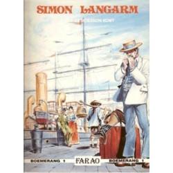 Simon Langarm set HC<br>deel 1 & 2<br>1e drukken 1989