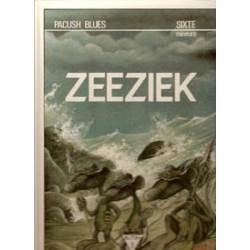 Pacush blues 01 HC Zeeziek 1e druk 1988