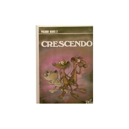 Pacush blues HC 02 Crescendo 1e druk 1990