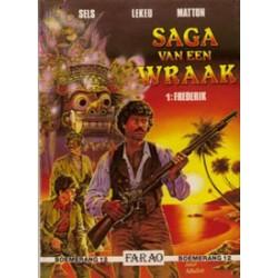 Saga van een wraak 01 HC Frederik 1e druk 1991