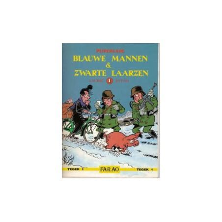 Pijpepaape 01 SC Blauwe mannen & Zwarte laarzen 1e druk