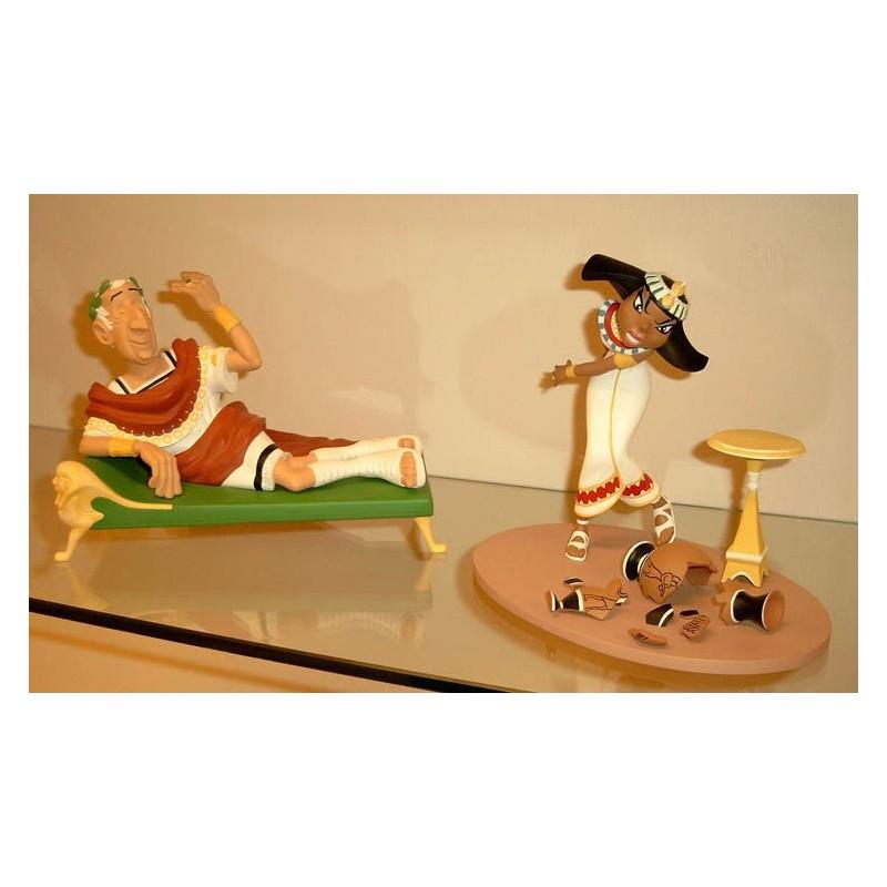 Asterix beeld LAS11/LAS06 - Caesar & Cleopatra setje