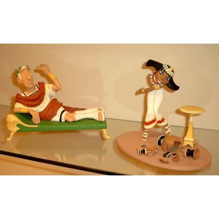 Asterix<br>beeld LAS11/LAS06 - Caesar & Cleopatra setje